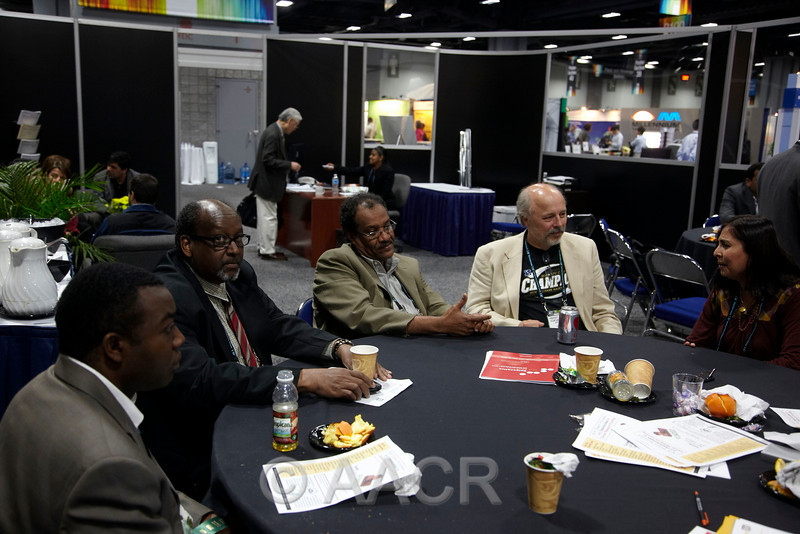 Washington, D.C. - AACR 101st Annual Meeting 2010: The Minorities in Cancer Research Resource Center at the American Association for Cancer Research Annual Meeting here today, Tuesday, April 20, 2010. More than 17,000  physicians, researchers, healthcare professionals, cancer survivors and patient advocates from 60 countries are attending the meeting which is being held at the Walter E Washington Convention Center. TThe meeting covers the breadth of cancer science from basic through clinical and epidemiological research. Date: Tuesday, April 20, 2010 Photo by © AACR/Todd Buchanan 2010 Technical Questions: todd@toddbuchanan.com; Phone: 612-226-5154.
