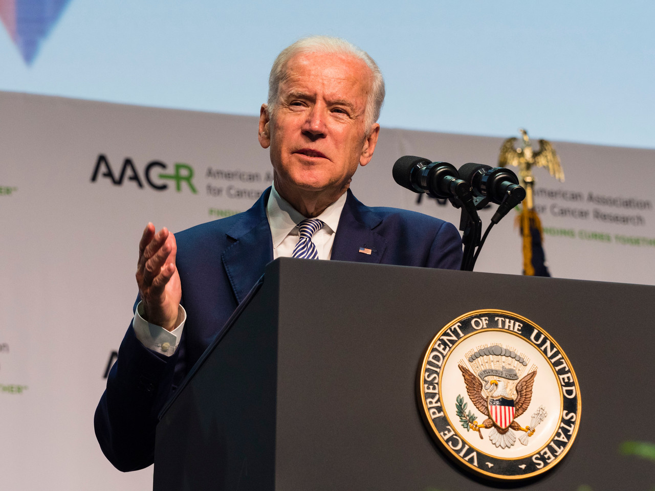 Vice President Joe Biden speaks during the Closing Plenary Session